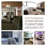 How to Arrange Living Room Furniture Around a TV