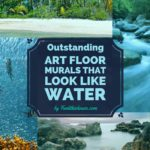 3D Floor Murals that Look Like Water