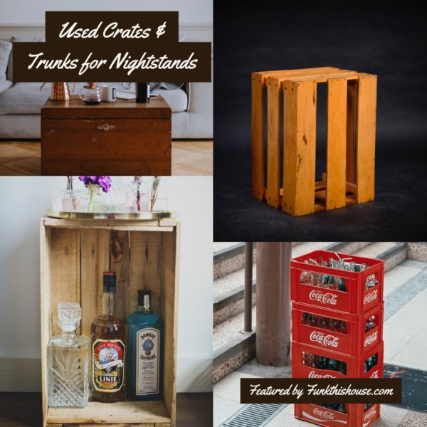 Used Crates for Nightstands