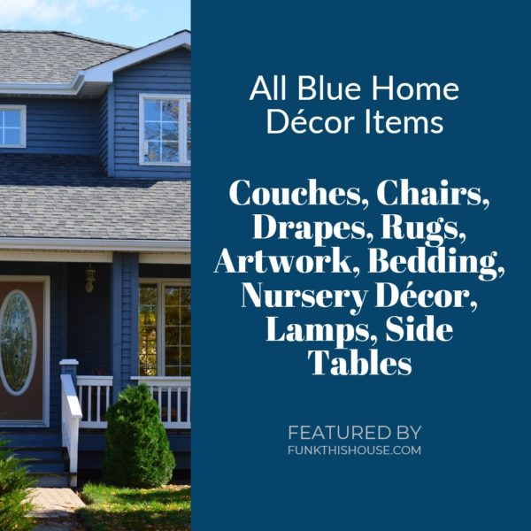 Blue Home Decor Items