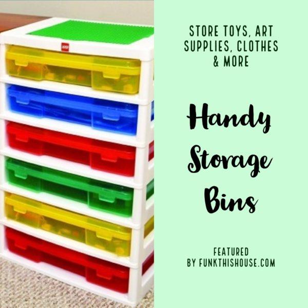 Storage Drawer Organizers