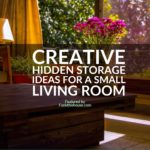 Hidden Storage Ideas for a Small Living Room