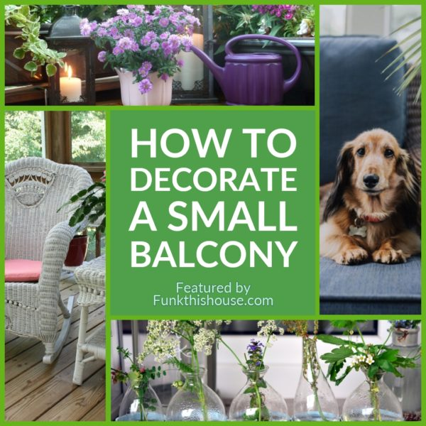 Ideas on How to Decorate a Small Balcony