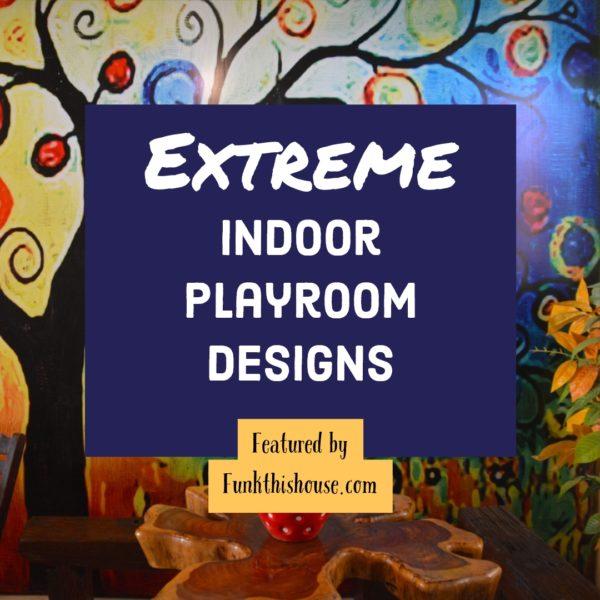 Elaborate Indoor Playroom Designs