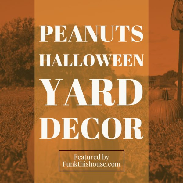 Peanuts Halloween Decor