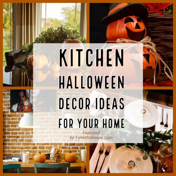Kitchen Halloween Decor Ideas