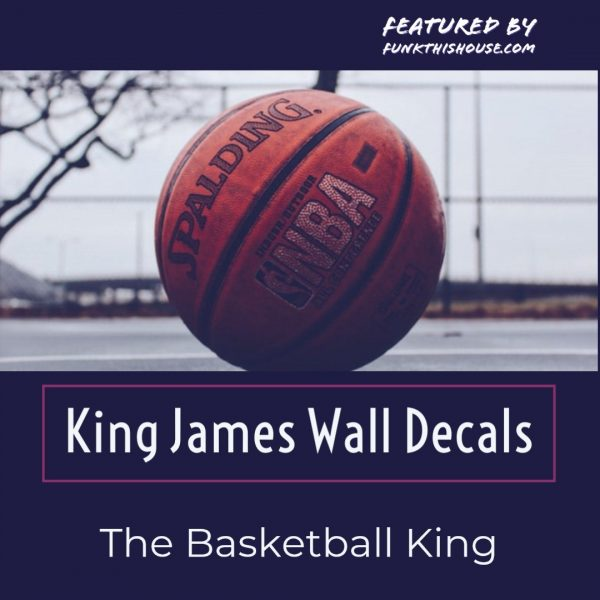 Lebron James Wall Decals