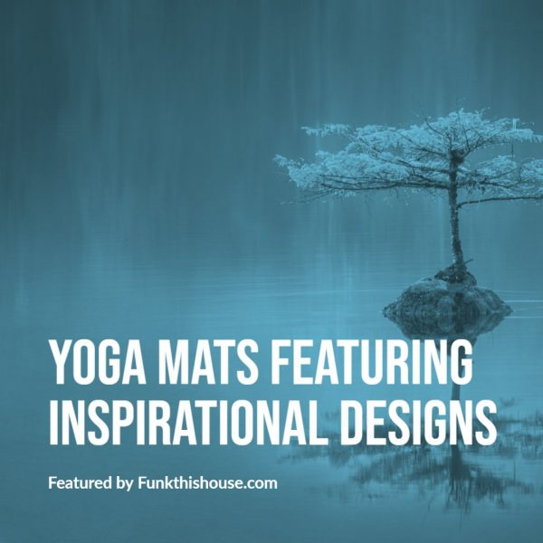 Yoga Mat with Designs