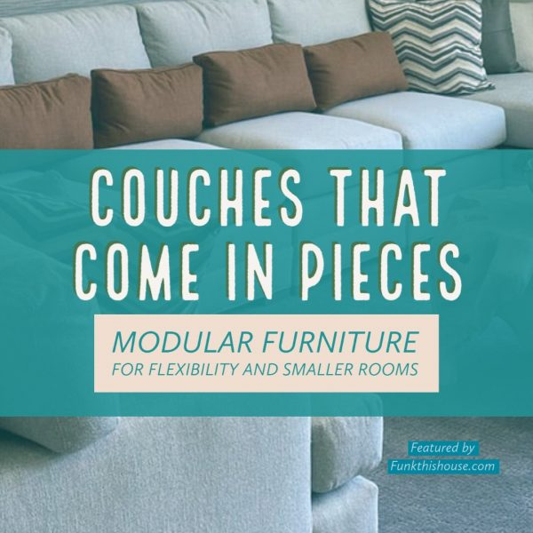 Couches that Come in Pieces Modular Sofas