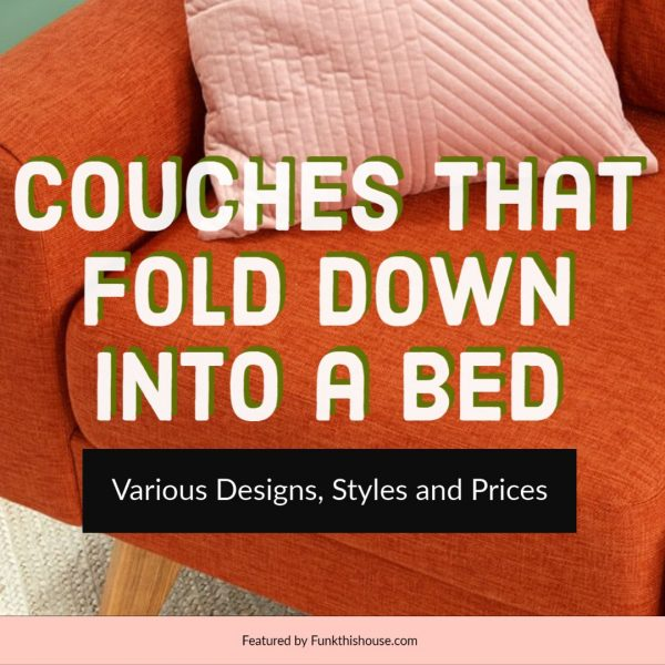 Couches that Fold Into a Bed