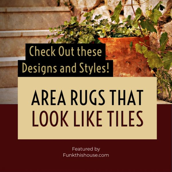 Rugs that Look Like Tiles